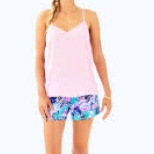 Dusk pink velvet top Lilly Pulitzer nwt
